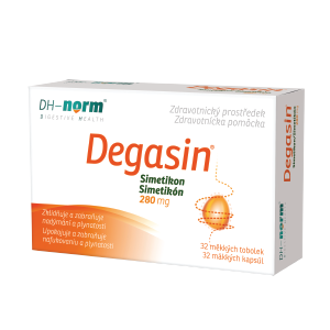 Degasin 280 mg 32 kapsúl