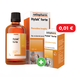 Hylak forte, 100ml + Hylak forte, 30ml za 0,01 €