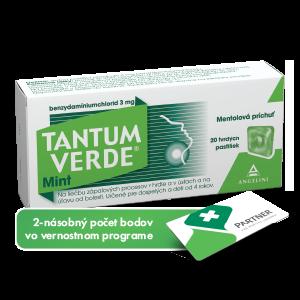 TANTUM VERDE® Mint 20 tvrdých pastiliek
