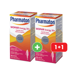 PHARMATON® WOMAN ENERGY 30+ 30 tabliet AKCIA 1+1