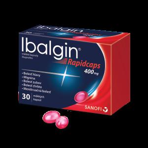 Ibalgin® Rapidcaps* 400 mg 30 kapsúl