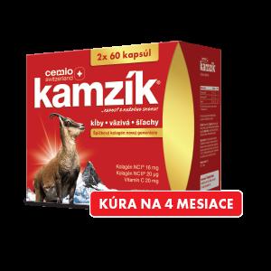 Cemio Kamzík 60 + 60 tabliet DARČEKOVÉ BALENIE