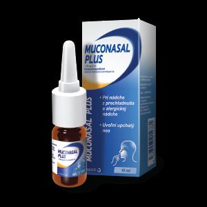 MUCONASAL® plus* nosový sprej, 10ml