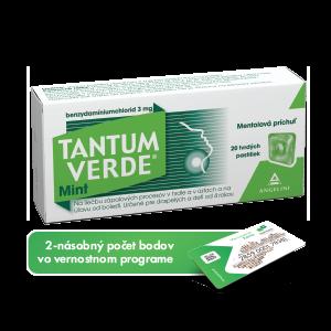 TANTUM VERDE® Mint* 20 tvrdých pastiliek