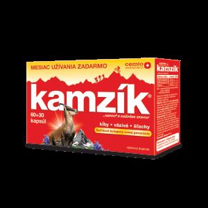 Kamzík 60 + 30 kapsúl ZADARMO