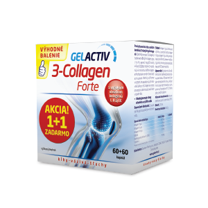 GELACTIV 3-Collagen Forte 60 kapsúl 1+1 ZADARMO