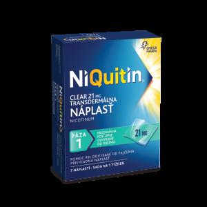NiQuitin Clear 21 mg 7 ks