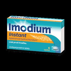 Imodium® Instant* 2 mg 6 orodispergovatelných tabliet