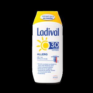 Ladival® ALLERG SPF 30 gél na opaľovanie, 200 ml