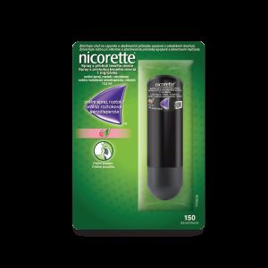 Nicorette® Spray* s príchuťou lesného ovocia 1 mg/dávka, orálna aerodisperzia, roztok