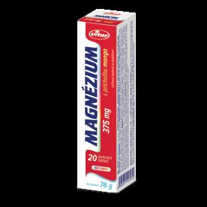 VITAR MAGNÉZIUM 375 mg s príchuťou manga, 20 šumivých tabliet