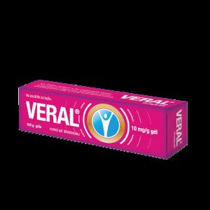 VERAL® 10 mg/g gél 100 g