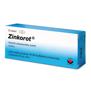 Zinkorot®* 50 tabliet