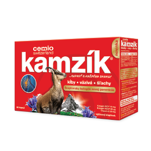 Cemio Kamzík 60 kapsúl