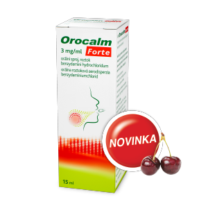 Orocalm* Forte 3 mg/ml, 15 ml