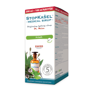 STOPKAŠEL Medical Sirup - Dr.Weiss 200 + 100 ml navyše