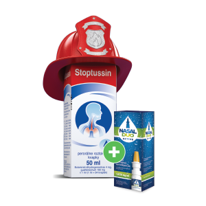 Stoptussin*, 50ml + NASAL DUO ACTIVE* 1,0/50 mg/ml, 10ml