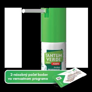 TANTUM VERDE® SPRAY FORTE* orálna aerodisperzia 15ml