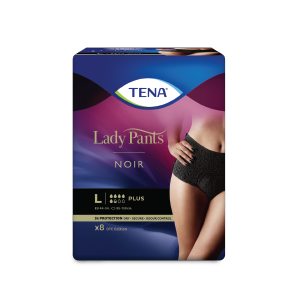 TENA Lady Pants Noir L 8 ks