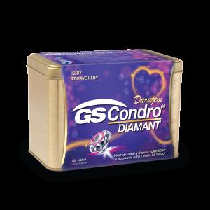GS Condro DIAMANT 120 tabliet + DARČEK zlatá dóza