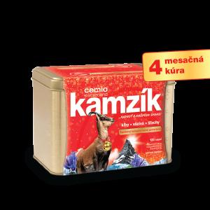 Cemio Kamzík 120 kapsúl + DARČEK zlatá dóza