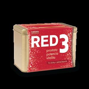 Cemio RED3 90 kapsúl + DARČEK zlatá dóza