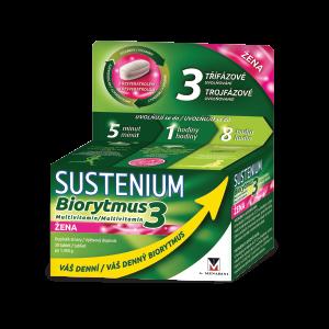SUSTENIUM Biorytmus 3 multivitamín ŽENA 30 tabliet