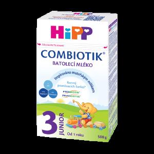 HiPP Combiotik 3 a 4 mliecna batolacia výživa 500 g