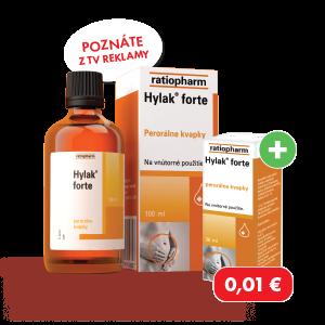 Hylak forte*, 100ml + Hylak forte*, 30ml za 0,01 €