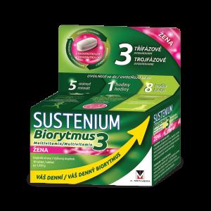 SUSTENIUM Biorytmus 3 multivitamín ŽENA, 30 tabliet