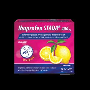 Ibuprofen STADA 400 mg perorálny prášok 20 ks