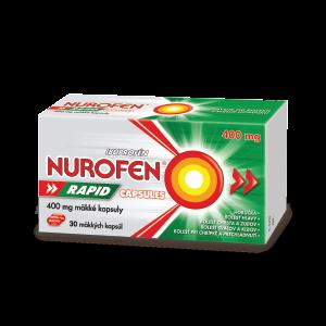 NUROFEN Rapid 400 mg Capsules 30 kapsúl