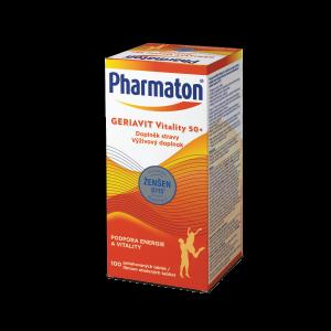 Pharmaton® GERIAVIT Vitality 50+ 100 tbaliet / 30 tbaliet