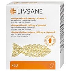 LIVSANE Omega-3 plus vitamín E cps 1x60 ks