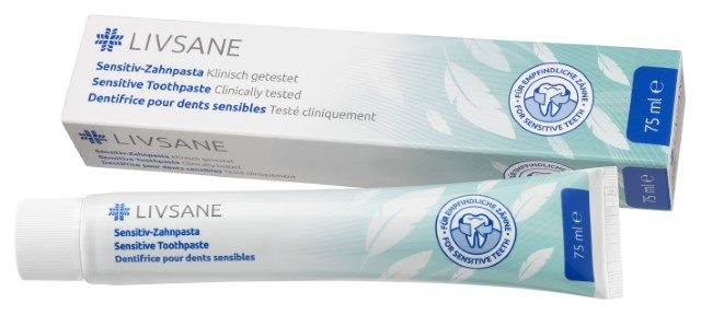 LIVSANE Zubná pasta Sensitive 1x75 ml