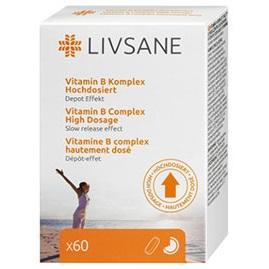 LIVSANE Vitamín B komplex tbl s predĺženým uvoľňovaním 1x60 ks
