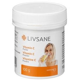 LIVSANE Vitamín C prášok 1x100 g