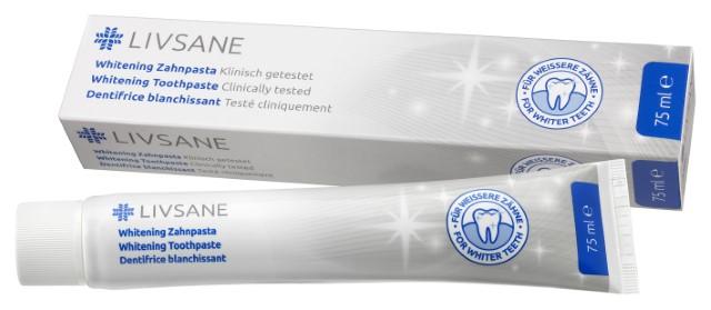 LIVSANE  Zubná pasta Bieliaca 1x75 ml
