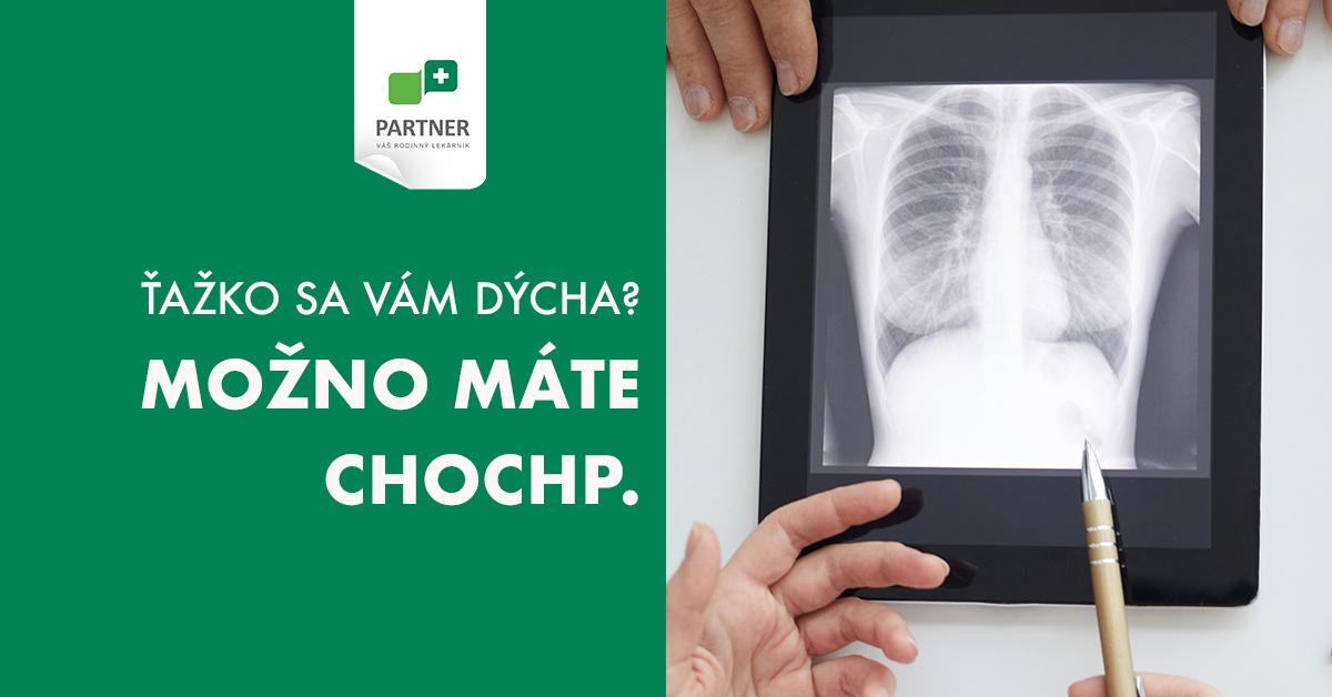 Máte problém s dýchaním? Pravidelne kašlete a ste fajčiar, bývalý fajčiar, alebo ste pracovali v prašnom prostredí?