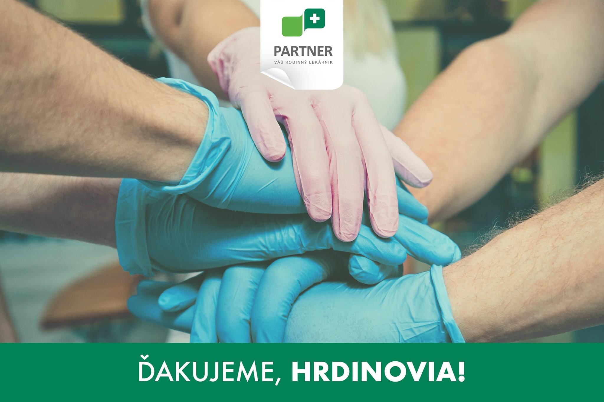 Poďakovanie lekárnikom